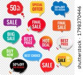 sale labels with isolated...   Shutterstock .eps vector #1798370446