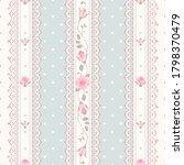 seamless polka dot vintage... | Shutterstock .eps vector #1798370479