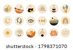 abstract story highlight cover. ... | Shutterstock .eps vector #1798371070