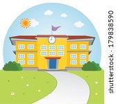 school. welcome back to school. | Shutterstock .eps vector #179838590