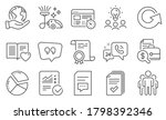 set of technology icons  such...