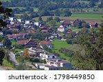 The village of Buonas, Risch Rotkreuz, Canton of Zug, Switzerland