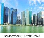 Panoramic View Of Singapore...