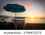 stunning sunset in lago di... | Shutterstock . vector #1798472173