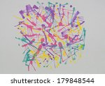 abstract colorful background... | Shutterstock . vector #179848544