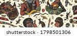 australia seamless pattern.... | Shutterstock .eps vector #1798501306