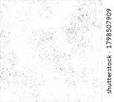grunge black ink splats on... | Shutterstock .eps vector #1798507909