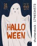 announcement of halloween event ... | Shutterstock .eps vector #1798534573
