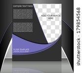 professional business flyer... | Shutterstock .eps vector #179854568