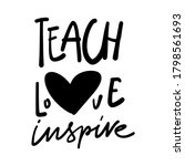 hand lettering illustration for ... | Shutterstock .eps vector #1798561693