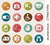 medical icons    Shutterstock .eps vector #179857496