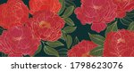 luxurious line arts background... | Shutterstock .eps vector #1798623076