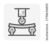 wood floor material testing or... | Shutterstock .eps vector #1798656850