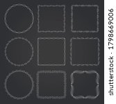 decorative frames and borders... | Shutterstock .eps vector #1798669006