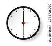wall clock  icon. graphic... | Shutterstock .eps vector #1798726030