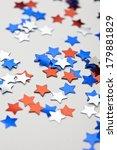 july 4th confetti | Shutterstock . vector #179881829