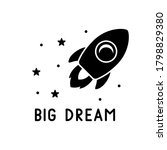 Big Dream Lettering  Space Ship ...
