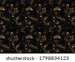 christmas socks vector...   Shutterstock .eps vector #1798834123