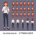 character set for animation....   Shutterstock .eps vector #1798841809