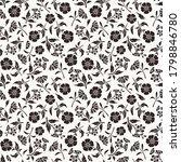 vector seamless black and white ...   Shutterstock .eps vector #1798846780