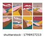 vector illustration landscape... | Shutterstock .eps vector #1798927213