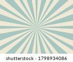 sunlight retro horizontal... | Shutterstock .eps vector #1798934086