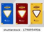 digital business marketing... | Shutterstock .eps vector #1798954906