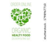 order online organic healthy... | Shutterstock . vector #1798967710