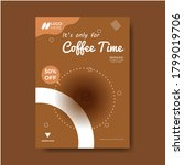 Trendy And Editable Coffee...