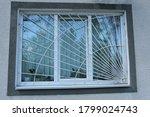 One Large White Window Behind...