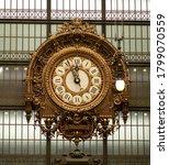 Museum Orsay Museum Big Clock. ...