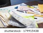 messy desk   Shutterstock . vector #179915438