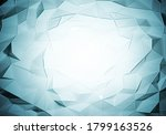 abstract polygonal space low... | Shutterstock . vector #1799163526