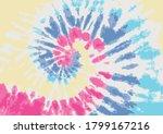 tie dye pastel colors background | Shutterstock .eps vector #1799167216