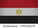abstract flag of egypt made of... | Shutterstock .eps vector #1799180179