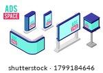 isometric vector illustration... | Shutterstock .eps vector #1799184646