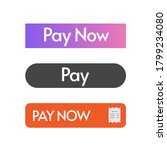 pay now button design ui...