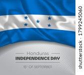 honduras happy independence day ...   Shutterstock .eps vector #1799245060