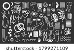 abstract form drawing style...   Shutterstock .eps vector #1799271109