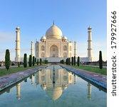 Taj Mahal In Agra Uttar Pradesh ...