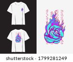 streetwear graphic design for t ... | Shutterstock .eps vector #1799281249