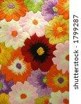 floral design of quilt art   Shutterstock . vector #1799287