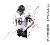 american football player...   Shutterstock .eps vector #1799302723
