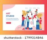 artist creative professions... | Shutterstock .eps vector #1799314846