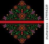 vector vintage floral ...   Shutterstock .eps vector #179954339
