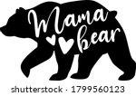 Mama Bear. Motherhood Quote...