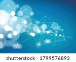 concept of the science ... | Shutterstock .eps vector #1799576893