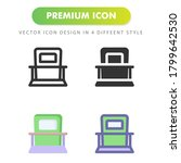 recycling bin icon isolated on...