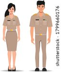 thai government officers... | Shutterstock .eps vector #1799660176