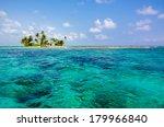 tropical island paradise | Shutterstock . vector #179966840